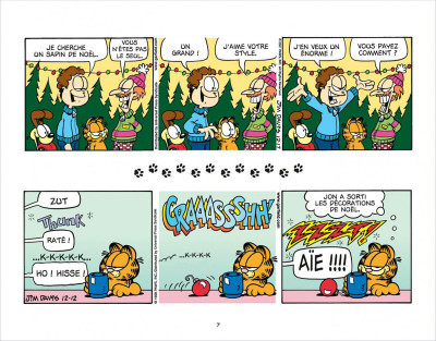 Page 7 Garfield s'emballe