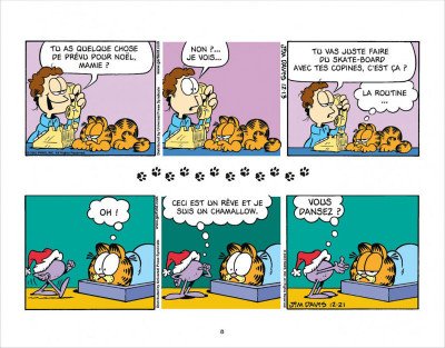 Page 8 Garfield s'emballe