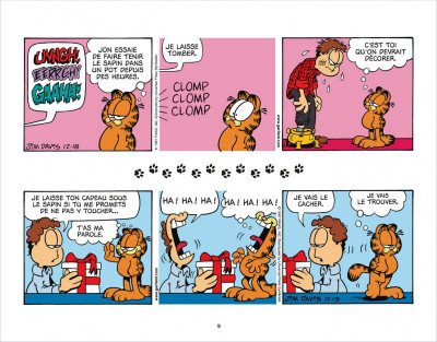 Page 9 Garfield s'emballe