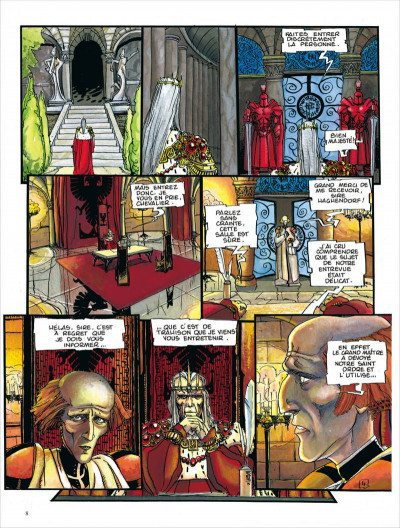 Page 8 Les chroniques de la Lune noire - intégrale tome 2
