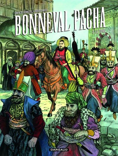 Couverture Bonneval Pacha tome 3 - le turc