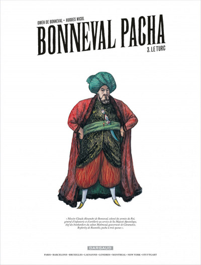 Page 1 Bonneval Pacha tome 3 - le turc