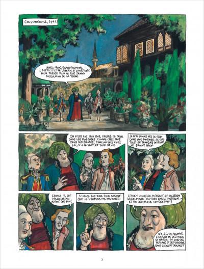 Page 3 Bonneval Pacha tome 3 - le turc