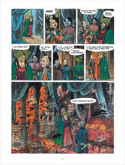 Page 5 Bonneval Pacha tome 3 - le turc