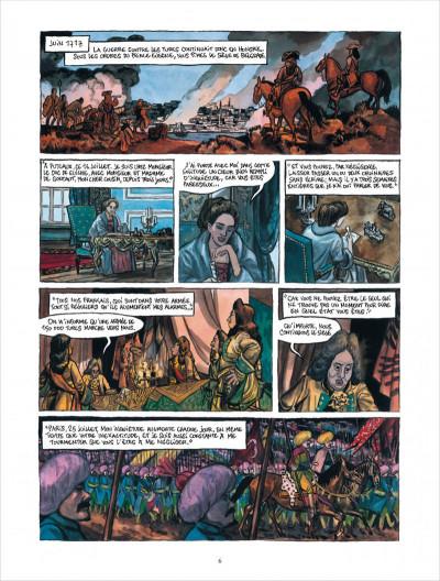 Page 6 Bonneval Pacha tome 3 - le turc