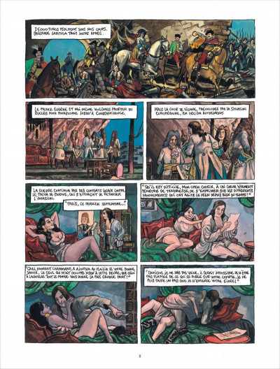 Page 8 Bonneval Pacha tome 3 - le turc