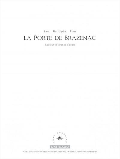 Page 1 La porte de Brazenac