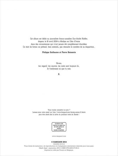 Page 2 Dantès tome 7 - le poison d'ébène