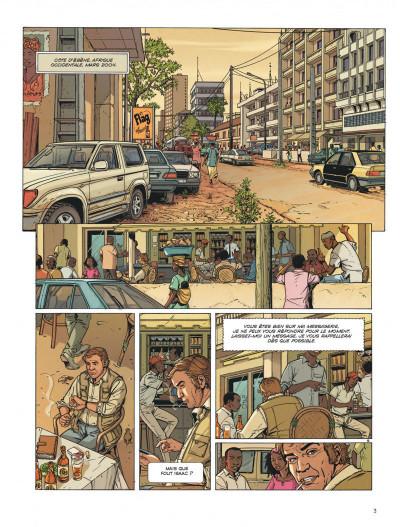 Page 3 Dantès tome 7 - le poison d'ébène