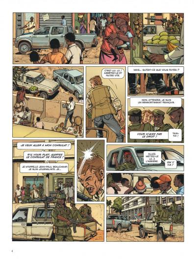Page 4 Dantès tome 7 - le poison d'ébène
