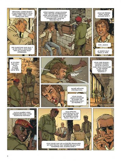 Page 6 Dantès tome 7 - le poison d'ébène