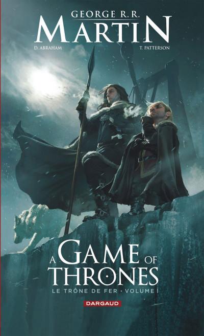 Couverture a game of thrones - le trône de fer tome 1