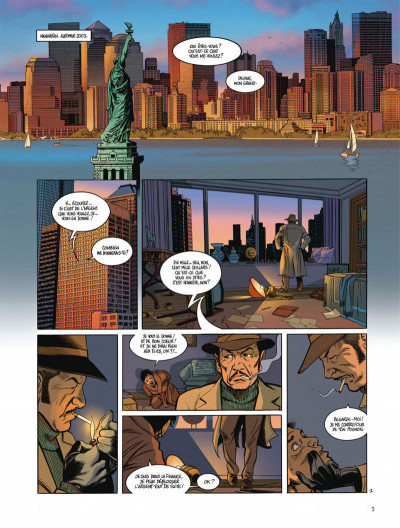 Page 3 Les vestiges de l'aube - tome 1