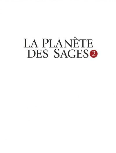 Page 1 La planète des sages tome 2