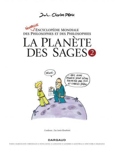 Page 3 La planète des sages tome 2