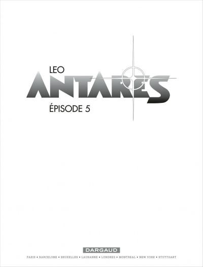Page 1 Antarès T.5