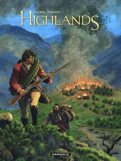 Couverture highlands tome 2 - le survivant des eaux noires