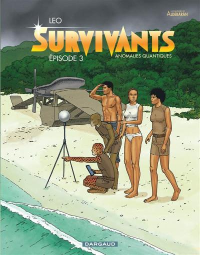 Couverture Survivants, anomalies quantiques tome 3