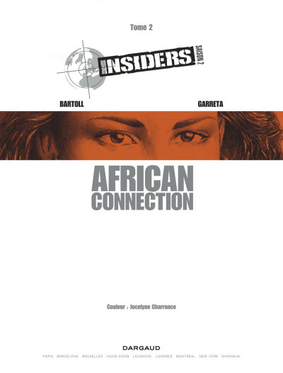 Page 1 Insiders - saison 2 tome 2 - African connection