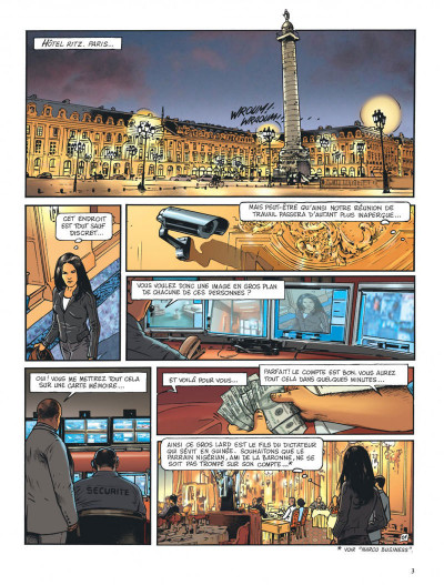 Page 3 Insiders - saison 2 tome 2 - African connection