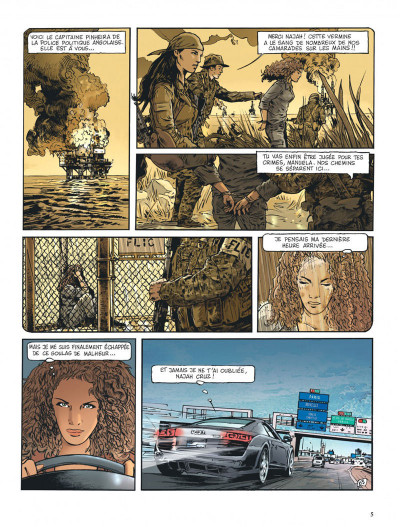 Page 5 Insiders - saison 2 tome 2 - African connection
