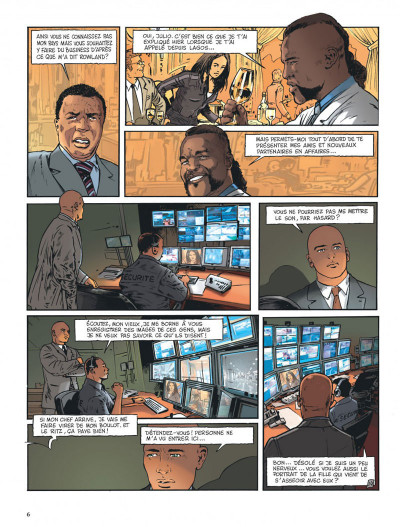 Page 6 Insiders - saison 2 tome 2 - African connection