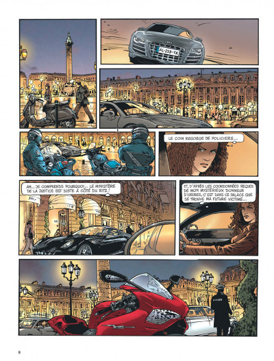 Page 8 Insiders - saison 2 tome 2 - African connection