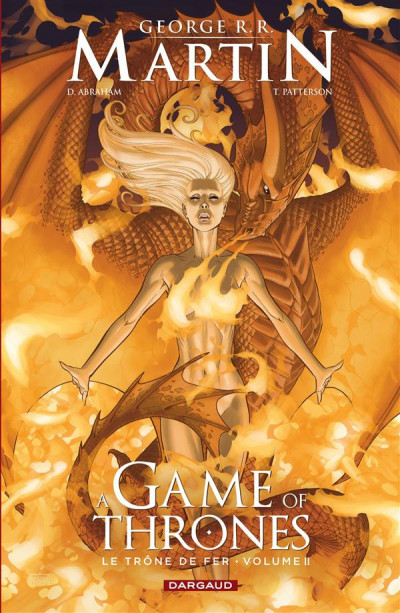 Couverture Game of Thrones - le trone de fer tome 2