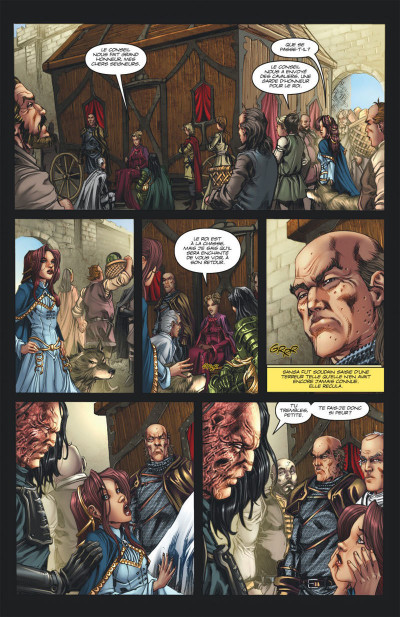 Page 7 Game of Thrones - le trone de fer tome 2