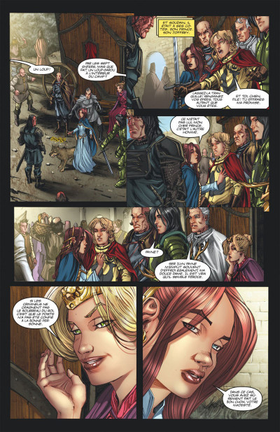 Page 8 Game of Thrones - le trone de fer tome 2