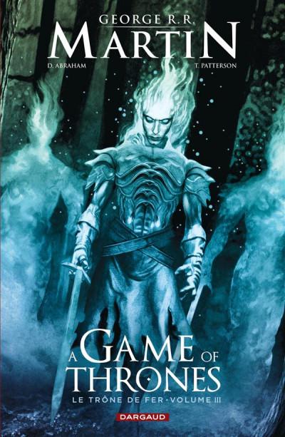 Couverture Game of Thrones - le trône de fer tome 3