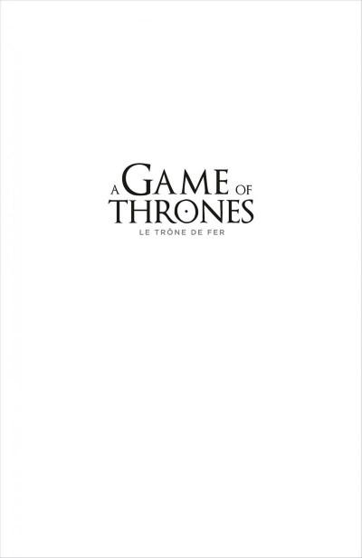 Page 1 Game of Thrones - le trône de fer T.3