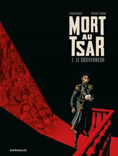 Couverture Mort au tsar tome 1