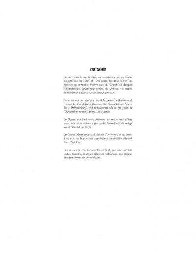 Page 3 Mort au tsar tome 1