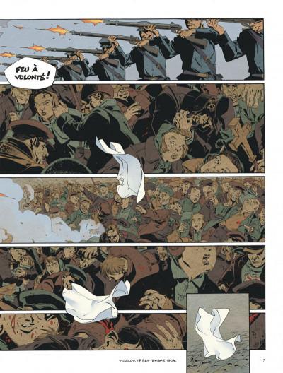 Page 7 Mort au tsar tome 1