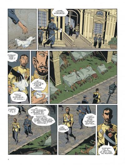 Page 8 Mort au tsar tome 1