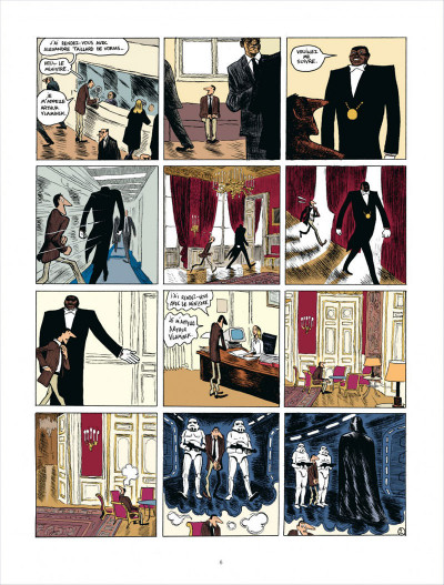 Page 6 Quai d'Orsay - intégrale