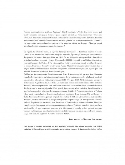 Page 3 La colère de Fantômas tome 2 - Tout l'or de Paris