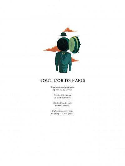 Page 4 La colère de Fantômas tome 2 - Tout l'or de Paris