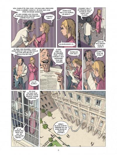 Page 6 la banque tome 2 - 1815-1857 1ère génération