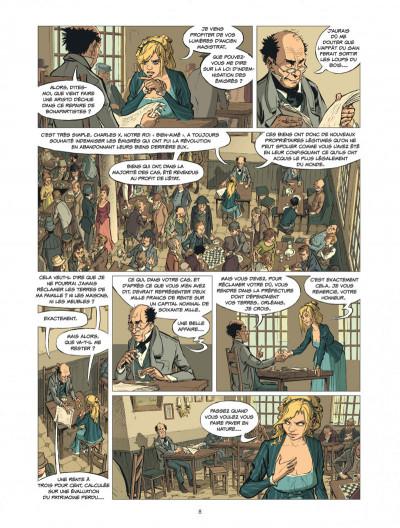 Page 8 la banque tome 2 - 1815-1857 1ère génération