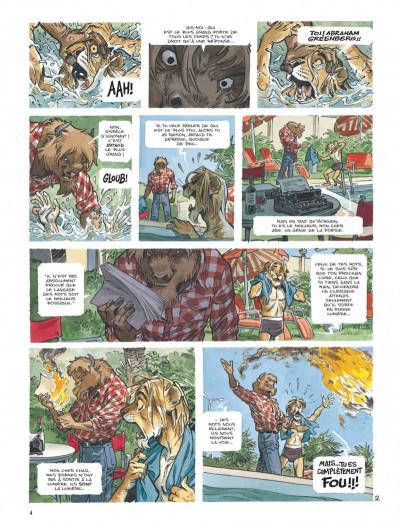 Page 4 Blacksad tome 5