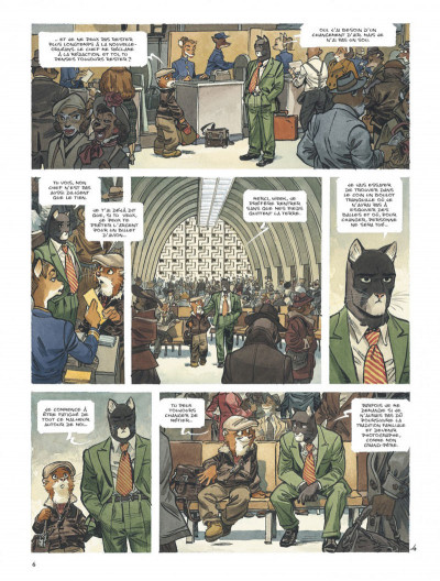 Page 6 Blacksad tome 5