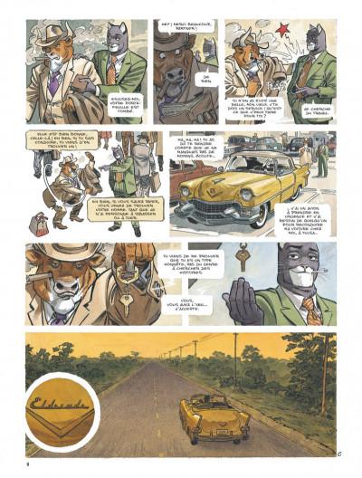 Page 8 Blacksad tome 5
