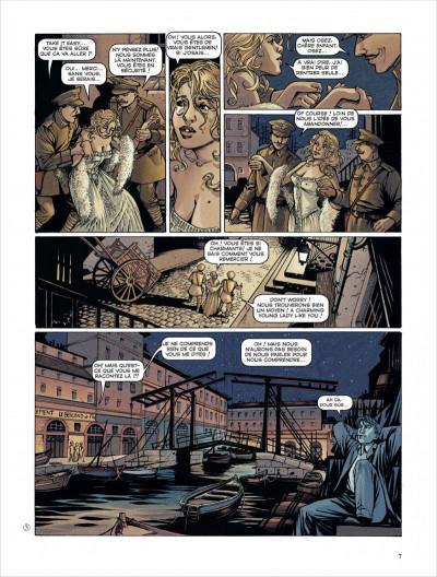 Page 7 la croix de Cazenac - Intégrale tome 3 (tome 7 à tome 10)