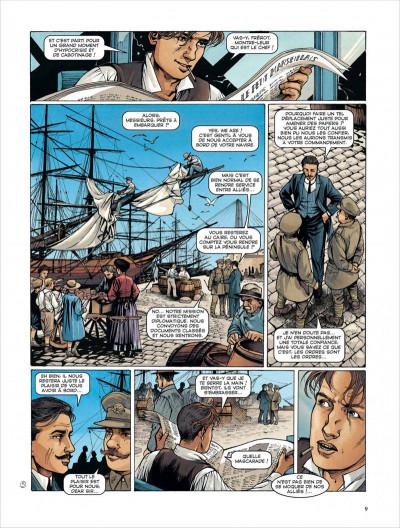 Page 9 la croix de Cazenac - Intégrale tome 3 (tome 7 à tome 10)