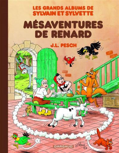 Couverture Sylvain & Sylvette - intégrale tome 5 - mésaventures de Renard