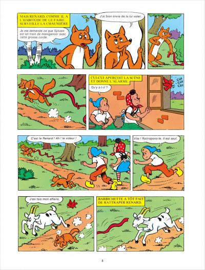 Page 8 Sylvain & Sylvette - intégrale tome 5 - mésaventures de Renard