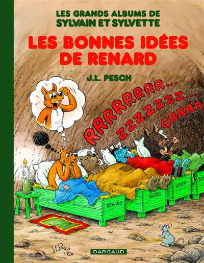 Couverture Sylvain & Sylvette - intégrale tome 6 - les bonnes idées de Renard