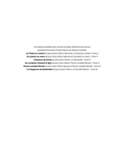 Page 2 Sylvain & Sylvette - intégrale tome 6 - les bonnes idées de Renard